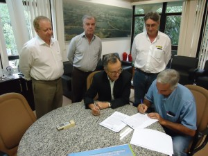 SEPAF e Sindicato Rural de Dourados assinam convenio