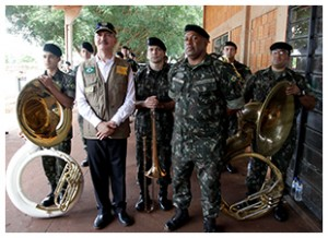 2015-12-06 Dourados MS - Ministro da Defesa visita a 2º Copa Nacional de Laço da Federação de Clubes de Laço do MS      Foto: Felipe Barra